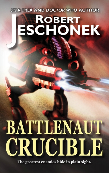 Battlenaut Crucible Cover 2014 New