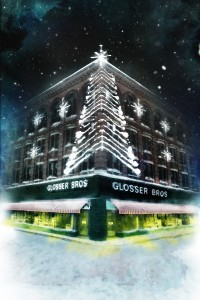 Christmas at Glosser's background